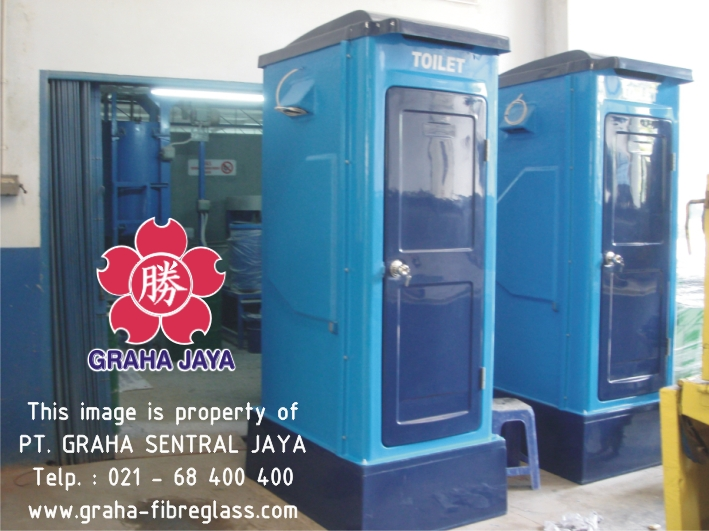 Flexible Toilet Fiberglass Tipe B