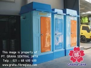 Toilet Portable Fibreglass Tipe A dan Tipe B