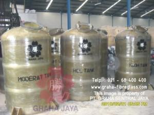 Tangki Fiber Tahan Kimia / Chemical Tank