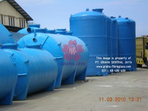 Septic Tank & Water Tank Fibreglass - Mesin Helical Filament Winding