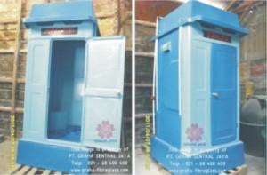 Toilet Portable Fibreglass Tipe A