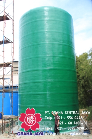Tangki Kimia Fiberglass / Storage Chemical Tank Fibreglass