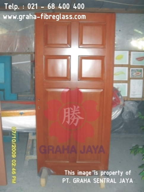Daun Pintu Fibreglass / Pintu Utama