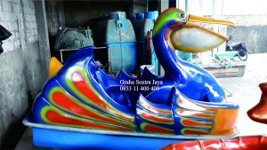 sepeda air fibreglass tipe burung pelican dan bangau